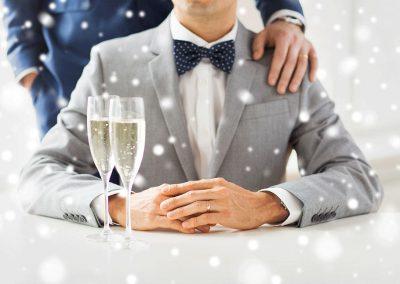 Same-Sex-Wedding-Champagne